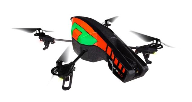 AR.Drone 2.0 quadricopter RC z kamerą HD (zielony, Parrot)