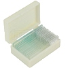 Set of 15 ready slides in platic box