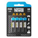 Newell AA NiMH rechargeable batteries - 4 pcs