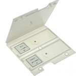 Case for 2 microscope slides
