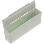 Case for 5 microscope slides