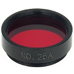 "Planetary filter 1,25"" #25A red"