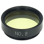 "Planetary filter 1,25"" #8 light yellow"