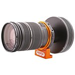Geoptik adapter for Nikon EOS Lenses to T2 thread - with 1/4in camera tripod