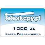 Gift card - 1000 PLN (Polish zloty)