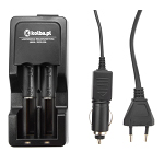 Auto charger / wall charger for 18650 / 14500 / AA