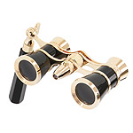 Levenhuk Brodway theatre binocular 3x25 black-gold with handle