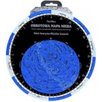 Rotary map of sky (PTMA) in foil