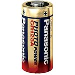 Panasonic CR123 3V photo lithium battery