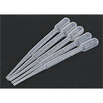 Pasteur\'s pipette 3,0 ml set of 5