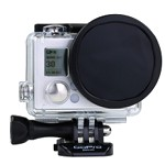 POLAR PRO Polarizer Filter for GoPro Hero4 / 3+ with housing