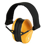Protective shooting headphones RealHunter passive, orange