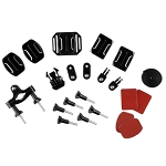 22 mounting elements for Gopro (by Redleaf)