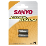 LR1 1.5V batteries (2 pcs, Sanyo)