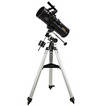 Spinor Optics N-114/1000 EQ1 Newtonian telescope + equatorial mount + tripod