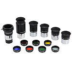 "Set of eyepices and filters (1.25"", ALU case, Starguider)"