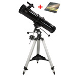 SkyWatcher N-130/900 EQ2 telescope + Astronomy for beginners (book in Polish)