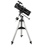 SkyWatcher N-114/1000 EQ1 Newtonian telescope + equatorial mount + tripod