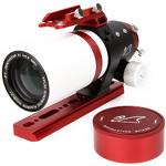 "William Optics Zenithstar ZS 61 II APO (dublet APO FPL53 61 mm f/5,9, 2"" R&P, kolor: czerwony, Z61)"