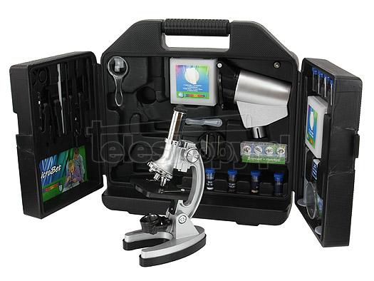 Microscope microset bresser junior microscope bresser visiomar