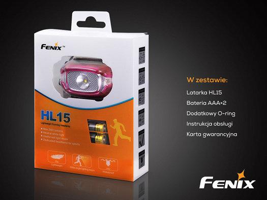 Fenix Hl10 Headlight Black