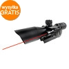 Firefield 2.5-10x40 Riflescope with Red Laser (FF13011)
