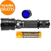 Fenix FD41 torch set with battery and blue filter