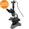 Levenhuk D740T microscope with 5,1 Mpix USB camera