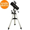SkyWatcher N-114/500 EQ1 Newtonian telescope + equatorial mount + tripod