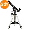 SkyWatcher R-80/900 EQ-2 telescope with 45-90 deg. diagonal