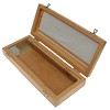 Wooden case for 50 microscope slides