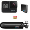 GoPro Hero7 Black bundle - with Shorty, Battery and Sandisc Extreme 32 GB card