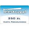 Gift card - 250 PLN (Polish zloty)