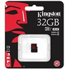 Karta KINGSTONE 32 GB microSDHC Cl 10 U3 90 MB/s z adapterem SD