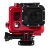 Waterproof housing for GoPro Hero3, 3+, 4 (red)