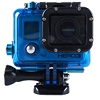 Waterproof housing for GoPro Hero3, 3+, 4 (blue)