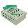 50 pcs microscopic slides with green description field