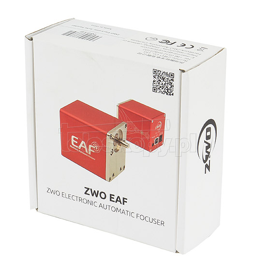 ZWO EAF (Electronic Automatic Focuser), wersja: standard